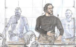 Tyler Vilus, au premier jour de son procès