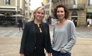 Marie (à gauche) et Sophie, deux citoyennes strasbourgeoises engagées.