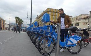 Plus de 10.000 Niçois sont abonnés au réseau de partage de Vélos bleus.