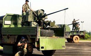 (Photo d'illustration) Un camion de l'armée française en Guyane.
