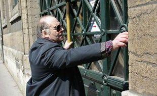 Henri Leclaire, qui s'était accusé du double meurtre en 1986, mais systématiquement mis hors de cause par les enquêtes, à Lyon le 17 avril 2002