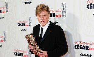 L'acteur Robert Redford à la 44e cérémonie des César