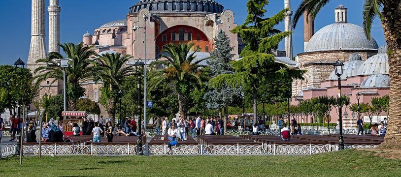 L'ex-basilique Sainte-Sophie à Istanbul