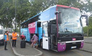Les bus Ouibus circulent à Nantes depuis vendredi