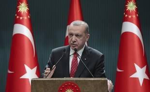 La présidence turque n'a pas du tout apprécié l'action de Twitter