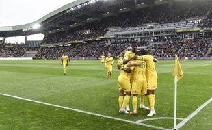 Nantes ne s'était plus imposé contre Paris depuis 2004.