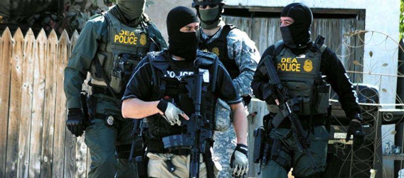 Les agents de la DEA