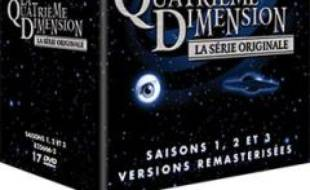 """Le coffret DVD des trois premières saisons de """"La quatrième dimension."""