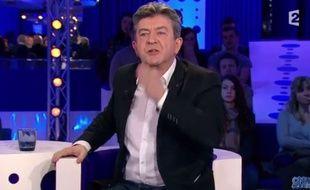 Jean-Luc Mélenchon sur France 2 le 20 février 2016.