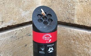 EcoMegot va installer plusieurs dizaines de bornes de ce type, d'abord sur la rive droite de Bordeaux.