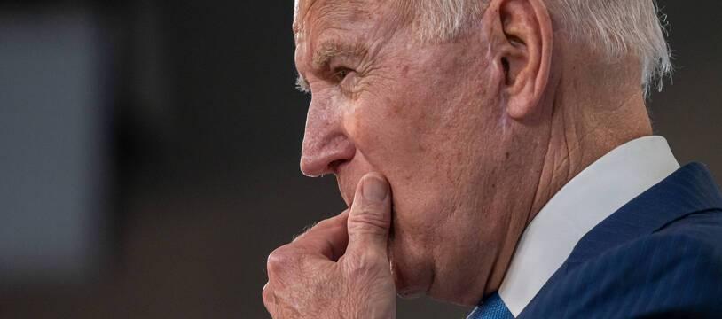 Le président américain Joe Biden le 23 août 2021 à la Maison Blanche.
