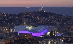 Le stade Vélodrome à Marseille.