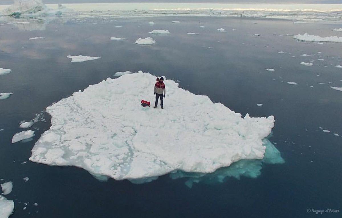 Guirec et sa poule Monique sont actuellement au Groenland. – Voyage d'Yvinec