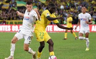 Abdoulaye Dabo en 2018 contre Caen.