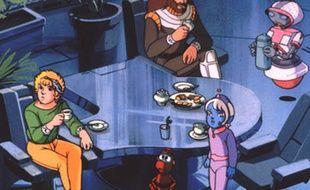 Les personnages de la série d'animation «Ulysse 31».