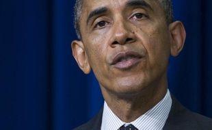 Le président Barack Obama à Washington, le 10 juin 2014