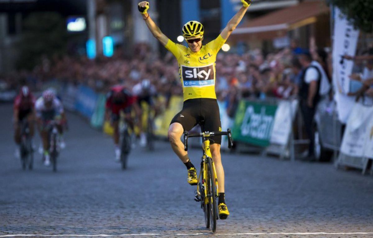 Chris Froome, vainqueur du Tour de France 2016. – KRISTOF VAN ACCOM / Belga / AFP