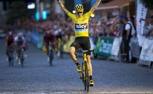 Chris Froome, vainqueur du Tour de France 2016.