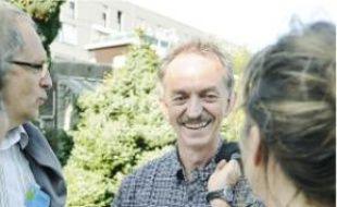 Jacques Soignon, au Jardin des plantes.