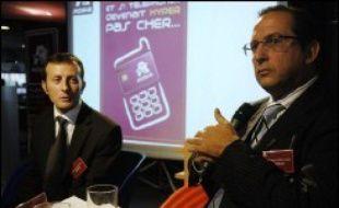 Le groupe de distribution Auchan, qui va lancer son opérateur virtuel (MVNO) lundi, a fait part mercredi de son ambition de devenir le premier MVNO de France d'ici fin 2007.
