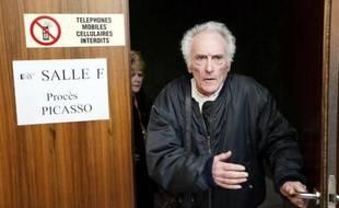 L'ex-électricien de Picasso Pierre Le Guennec au tribunal de Grasse, le 10 février 2015