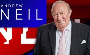 L'animateur Andrew Neil a inauguré dimanche la chaîne britannique GB News, déjà comparée à Fox News