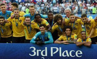 Pour la première fois, les Belges sur grimpent sur le podium