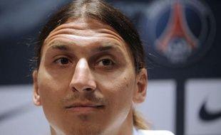 L'attaquant suédois Zlatan Ibrahimovic, recrue star du Paris SG, est arrivé à Princeton pour effectuer le stage de l'équipe aux Etats-Unis