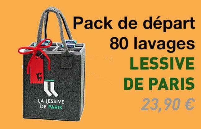 Pack de départ 80 lavages Lessive de Paris