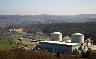 La centrale nucléaire de Beznau (Suisse) est en service depuis 1969.