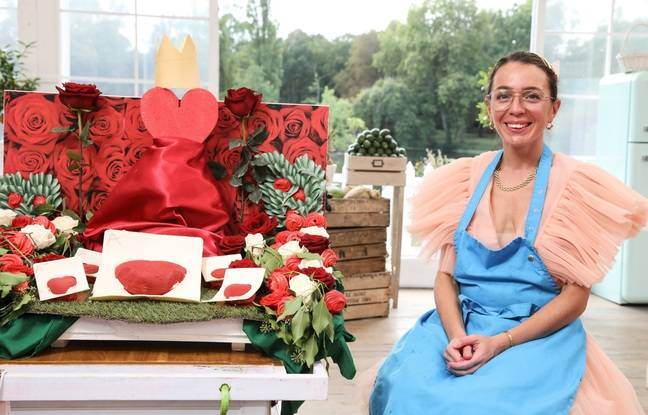 En finale, Elodie Condemi avait réalisé un gâteau sur le thème d'Alice au pays des Merveilles.