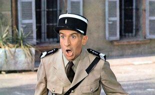 Louis de Funès dans «Le Gendarme et les Extra-terrestres».