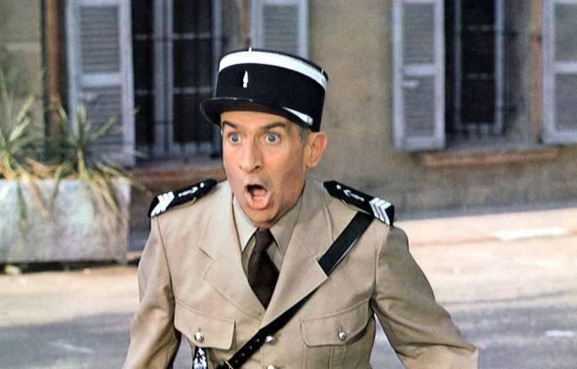 Louis de Funs dans Le Gendarme et les Extra-terrestres.