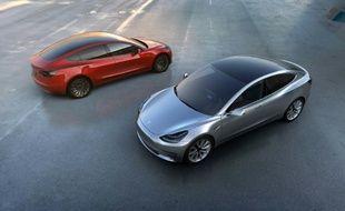 La Model 3 de Tesla coûte près de 40.000 euros.