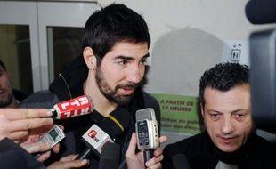 """La star mondiale du handball, Nikola Karabatic, qui s'est engagé jusqu'à la fin de la saison avec Aix-en-Provence n'a """"pas hésité une seconde"""" à rejoindre le club aixois où il retrouve son frère Luka, à l'issue d'une décision où """"l'affectif a beaucoup compté""""."""