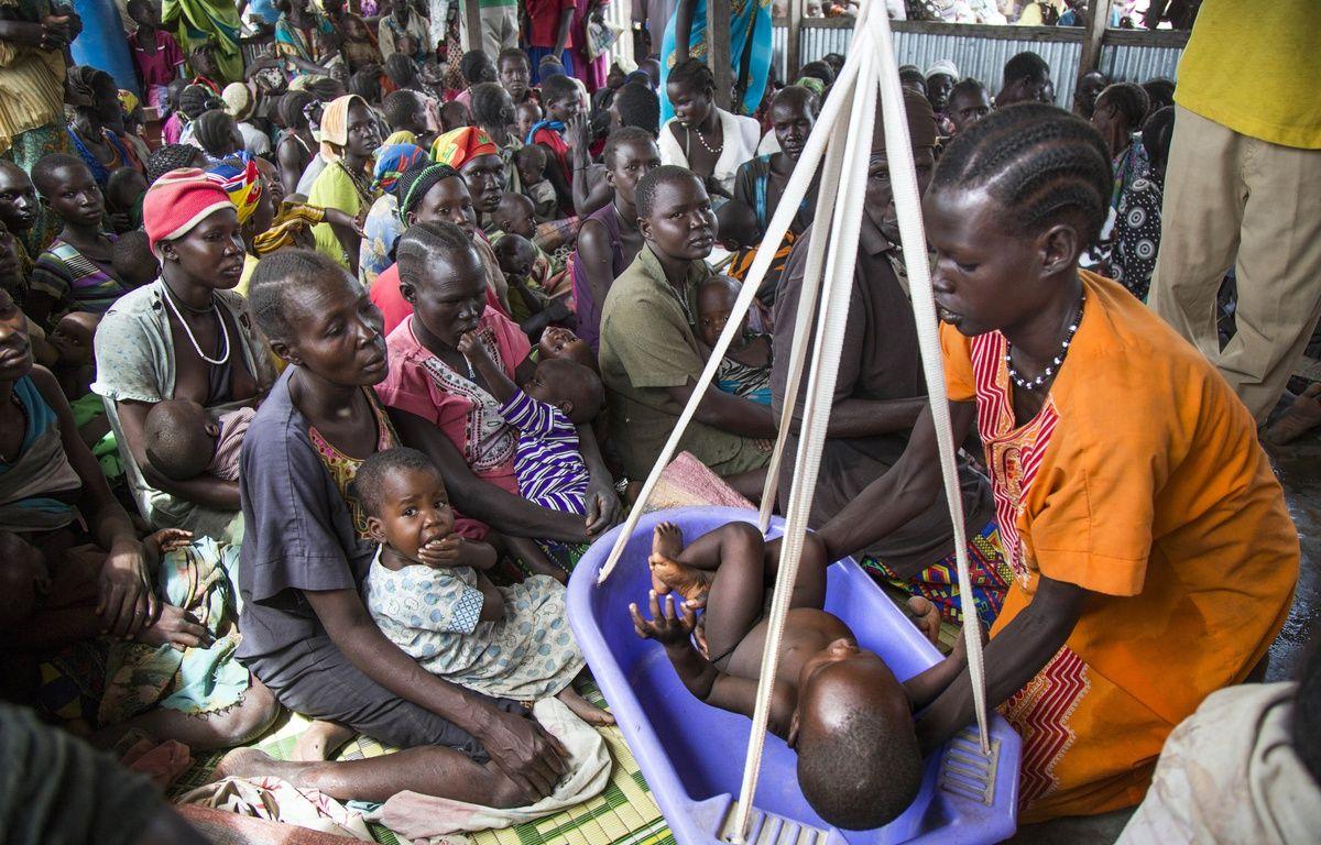 Un centre d'accueil et de soins pour les enfants à Panthau au Soudan du Sud, le 31 mai 2017.  –  Albert Gonzalez Farran / AFP