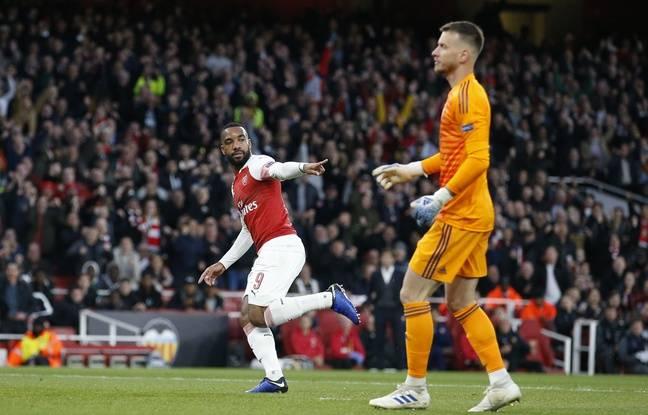 Premier League: Les fans d'Arsenal choisissent Lacazette comme joueur de la saison