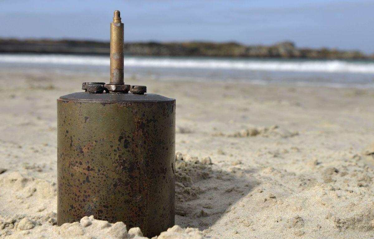 Un obus nazi de 1938 a été retrouvé aux Etats-Unis (illustration) – Geoff Moore/REX/REX/SIPA