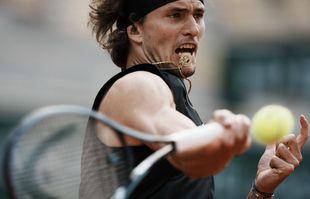 L'Allemand Alexander Zverev en quart de finale de Roland-Garros, le mardi 8juin 2021, à Paris.