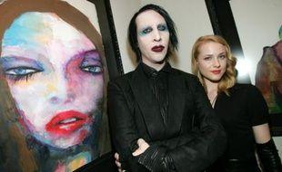 Marilyn Manson et Evan Wood