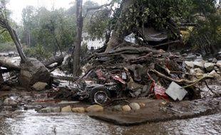 Des coulées de boue ont ravagé la Californie