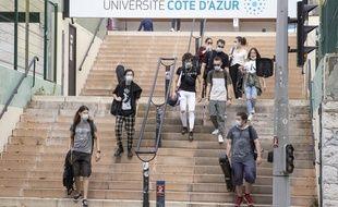Université de Nice, le 10/09/2020.