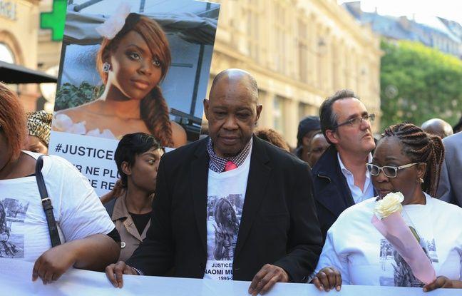 VIDEO. Mort de Naomi Musenga: «Par vous, Naomi continue son oeuvre», clame sa mère à la marche blanche à Strasbourg