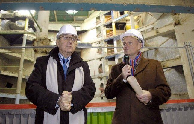 Pierre Aidenbaum et Christophe Girard en 2007.