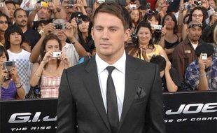 """L'acteur Channing Tatum lors de la première de son film, """"G.I. Joe: The rise of the Cobra"""", à Los Angeles, le 6 août 2009."""