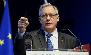 Le gouverneur de la Banque de France, Christian Noyer, le 5 mai 2015 à Paris