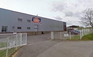 Capture d'écran de l'abattoir Volailles de l'Odet, à Landrévarzec (Finistère).