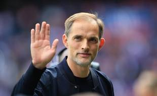 Thomas Tuchel avant PSG-Angers, le 5 octobre 2019.