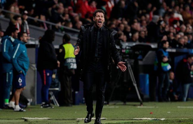 Atlético-Juventus: «Il fallait en avoir pour prendre mes décisions», Simeine explique son geste obscène sur le premier but
