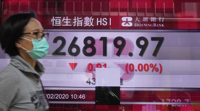 Face au coronavirus, les marchés vers leur pire semaine depuis 2008